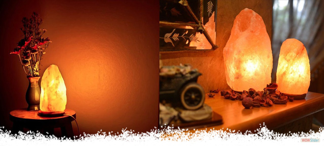 Certified, Pure Natural & Crystla Rock Salt Lamps