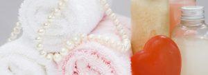 massage items and spa bg
